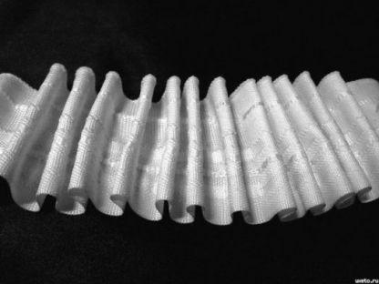 Тесьма шторная(лента) широкая х/б