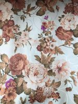 Шторная ткань жаккард с цветами